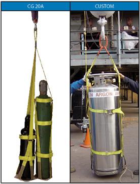 Gas Cylinder Lifting Sling Cradles - TorqHoist
