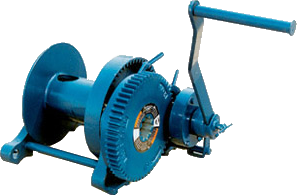Worm Gear and Spur Gear Hand Winches